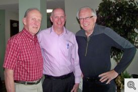 Pictured (l-r): Bob Honzik, Chris Arthen, and John Bodensteiner