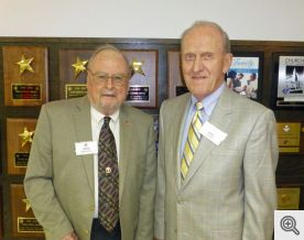 Dick Breckon (l) and Bob Honzik