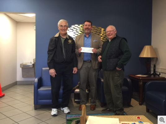 HSVKofC Donation to First Step Inc Jan 2018